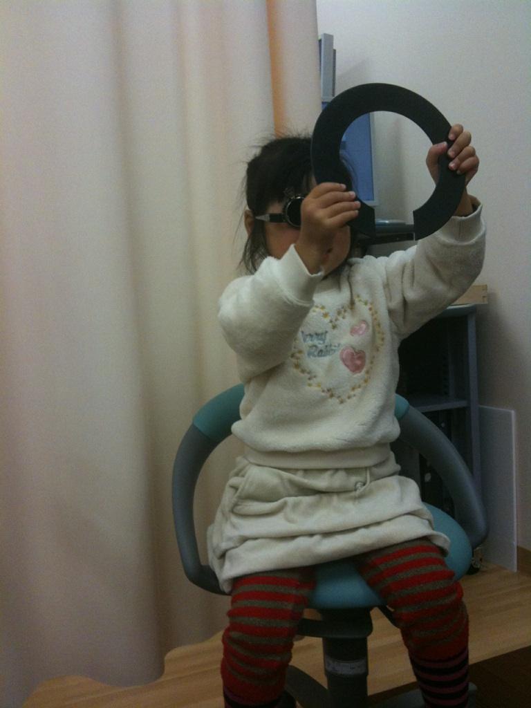【子育て】視力検査