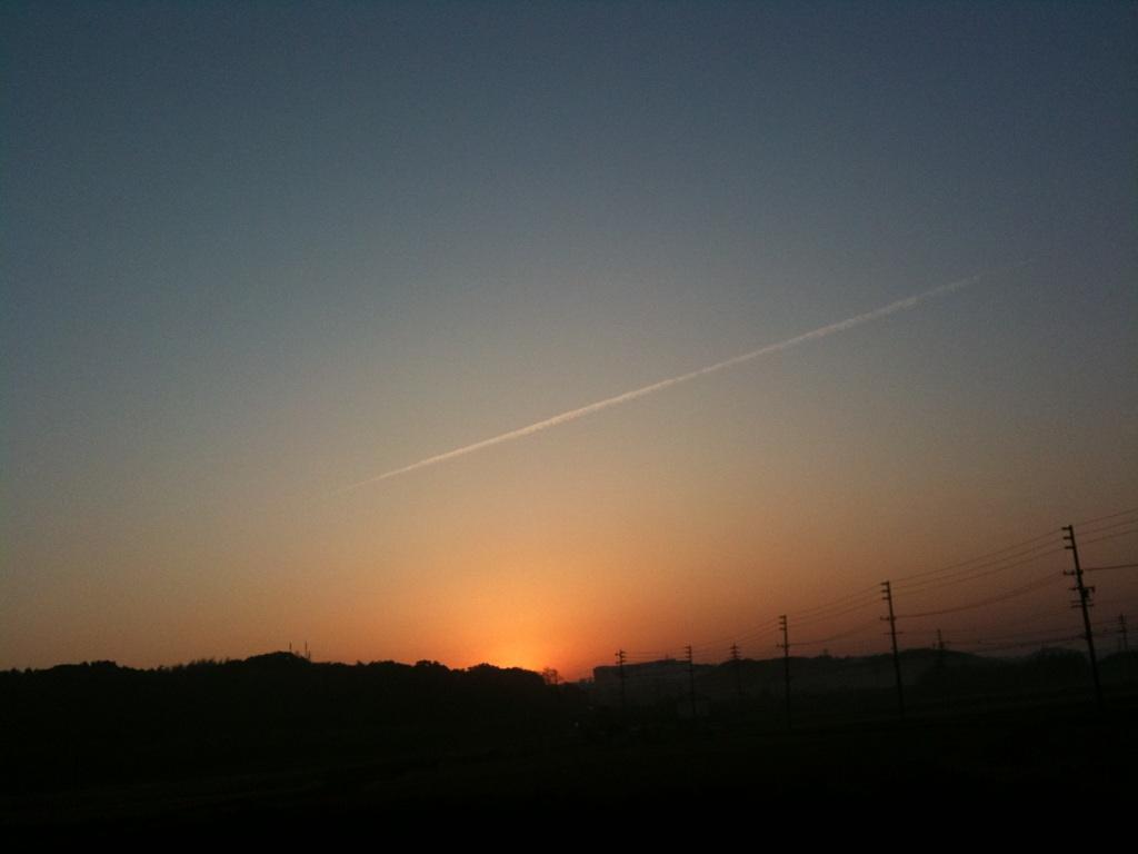 【スローライフ】朝靄(あさもや)2